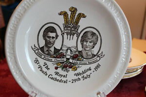 Prince Charles and Lady Diana Wedding Plate