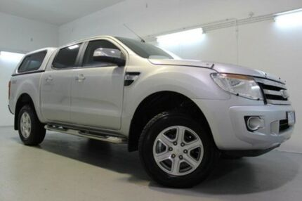 2012 Ford Ranger  Silver Auto Seq Sportshift Utility Launceston 7250 Launceston Area Preview