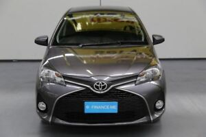 2015 Toyota Yaris NCP131R SX Graphite 4 Speed Automatic Hatchback