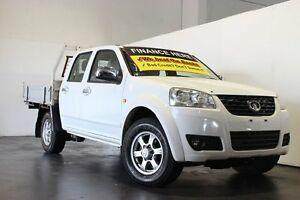 2011 Great Wall V200 K2 (4x2) White 6 Speed Manual Dual Cab Utility Underwood Logan Area Preview