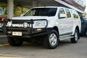 2014 Holden Colorado RG MY14 LX Crew Cab White 6 Speed Sports Automatic Cab Chassis Somerton Park Holdfast Bay Preview