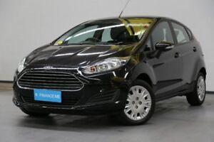 2014 Ford Fiesta WZ MY15 Ambiente PwrShift Black 6 Speed Sports Automatic Dual Clutch Hatchback