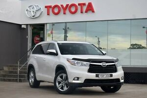 2016 Toyota Kluger GSU55R Grande (4x4) White 6 Speed Automatic Wagon Old Guildford Fairfield Area Preview