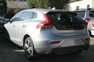 2015 Volvo V40 M Series MY16 T4 Adap Geartronic Luxury Electric Silver 6 Speed Sports Automatic Mosman Mosman Area Preview
