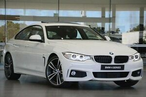2016 BMW 430i F36 M Sport Gran Coupe White 8 Speed Sports Automatic Hatchback Wangara Wanneroo Area Preview