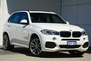 2016 BMW X5 F15 sDrive25d White 8 Speed Automatic Wagon Wangara Wanneroo Area Preview