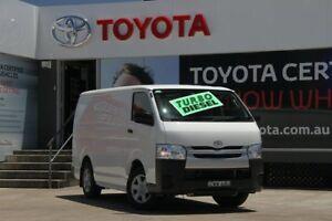 2014 Toyota Hiace KDH201R MY14 LWB White 4 Speed Automatic Van