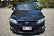 2009 Ford Falcon FG XR6 Super Cab Black 6 Speed Manual Cab Chassis Woodridge Logan Area Preview