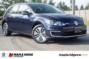 2016 Volkswagen e-Golf Comfortline ONE OWNER, FULLY ELECTRIC, SU