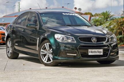 2015 Holden Commodore VF MY15 SS Green 6 Speed Sports Automatic Sedan Hillcrest Logan Area Preview