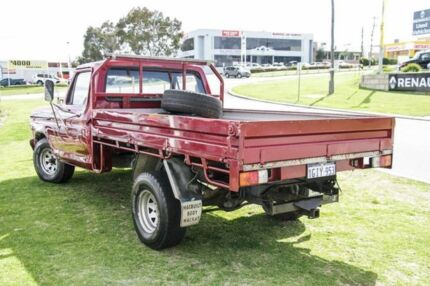1980 Ford F100 Maroon 4 Speed Manual Utility