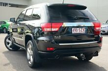 2012 Jeep Grand Cherokee WK MY2012 Limited Black 5 Speed Sports Automatic Wagon Wilston Brisbane North West Preview