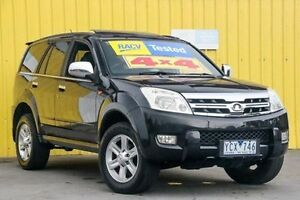 2010 Great Wall X240 CC6460KY Black 5 Speed Manual Wagon Ferntree Gully Knox Area Preview
