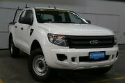 2014 Ford Ranger PX XL Double Cab 4x2 Hi-Rider White 6 Speed Sports Automatic Utility Brooklyn Brimbank Area Preview