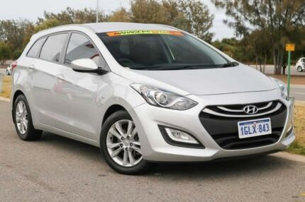 2014 Hyundai i30 GD Active Tourer Silver 6 Speed Sports Automatic Wagon Clarkson Wanneroo Area Preview