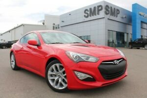 2013 Hyundai Genesis Coupe Premium - Leather, NAV, Sunroof, Manu