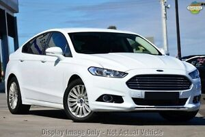 2016 Ford Mondeo MD Trend PwrShift Frozen White 6 Speed Sports Automatic Dual Clutch Hatchback Wangara Wanneroo Area Preview