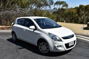 2011 Hyundai i20 PB MY11 Active Crystal White 4 Speed Automatic Hatchback St Marys Mitcham Area Preview