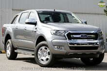 2016 Ford Ranger PX MkII XLT Double Cab Aluminium 6 Speed Manual Utility Dandenong Greater Dandenong Preview