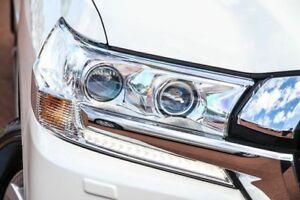 2015 Toyota Landcruiser VDJ200R Sahara Crystal Pearl 6 Speed Sports Automatic Wagon