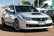 2008 Subaru Impreza G3 MY08 WRX STi AWD Spec R Silver 6 Speed Manual Hatchback Cannington Canning Area Preview
