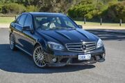 2010 Mercedes-Benz C63 W204 AMG Black 7 Speed Sports Automatic Sedan Wilson Canning Area Preview