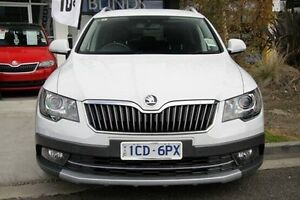 2014 Skoda Superb White Sports Automatic Dual Clutch Wagon Seaford Frankston Area Preview