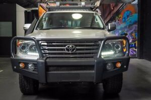 2014 Toyota Landcruiser VDJ200R MY13 VX Silver 6 Speed Sports Automatic Wagon