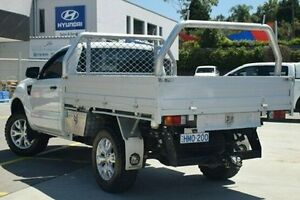2014 Ford Ranger PX XL 4x2 Hi-Rider White 6 Speed Manual Cab Chassis Thornleigh Hornsby Area Preview