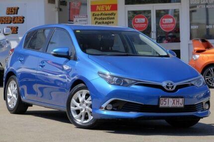 2016 Toyota Corolla ZRE182R Ascent Sport S-CVT Blue Gem 7 Speed Constant Variable Hatchback