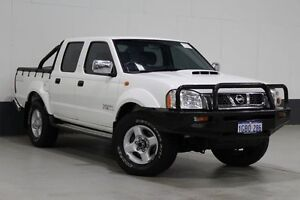 2012 Nissan Navara D22 Series 5 ST-R (4x4) White 5 Speed Manual Dual Cab Pick-up Bentley Canning Area Preview