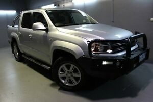2014 Volkswagen Amarok 2H MY14 TDI420 4Motion Perm Highline Silver 8 Speed Automatic Utility Launceston Launceston Area Preview