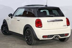 2016 Mini Hatch F56 Cooper S Pepper White 6 Speed Sports Automatic Hatchback Alexandria Inner Sydney Preview