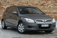 2008 Hyundai i30 FD SX Grey 5 Speed Manual Hatchback North Melbourne Melbourne City Preview