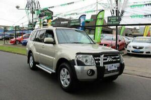 2008 Mitsubishi Pajero NS Platinum Edition Gold 5 Speed Sports Automatic Wagon