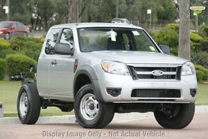 2009 Ford Ranger PK XL Super Cab White 5 Speed Manual Cab Chassis Moonah Glenorchy Area Preview