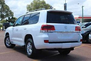 2016 Toyota Landcruiser VDJ200R GXL White 6 Speed Sports Automatic Wagon Westminster Stirling Area Preview