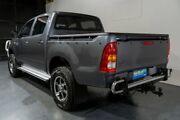 2008 Toyota Hilux KUN26R 07 Upgrade SR (4x4) Grey 4 Speed Automatic Dual Cab Pick-up Woodridge Logan Area Preview