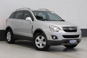 2012 Holden Captiva CG MY12 5 (FWD) Silver 6 Speed Automatic Wagon Bentley Canning Area Preview