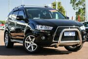 2009 Mitsubishi Outlander ZH MY10 VR-X Black 6 Speed Sports Automatic Wagon Cannington Canning Area Preview