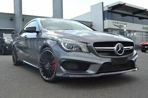 2015 Mercedes-Benz CLA45 C117 AMG Grey Sports Automatic Dual Clutch Strathmore Heights Moonee Valley Preview