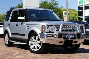 2011 Land Rover Discovery 4 Series 4 MY11 SDV6 CommandShift SE Silver 6 Speed Sports Automatic Wagon Osborne Park Stirling Area Preview