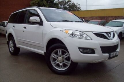 2012 Great Wall X200 CC6461KY MY11 (4x4) White 6 Speed Manual Wagon Windsor Hawkesbury Area Preview