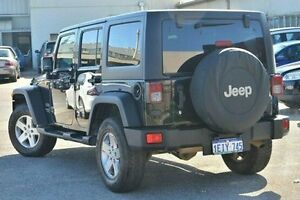 2013 Jeep Wrangler JK MY2013 Unlimited Sport Black 5 Speed Automatic Softtop Bayswater Bayswater Area Preview