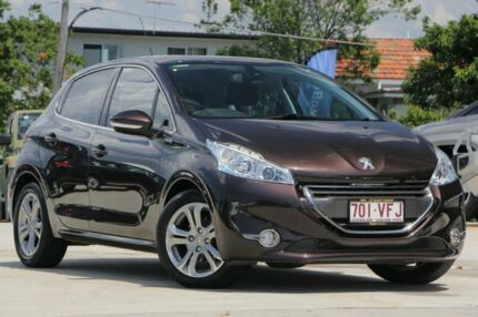 2014 Peugeot 208 A9 MY13 Allure Bronze 4 Speed Automatic Hatchback