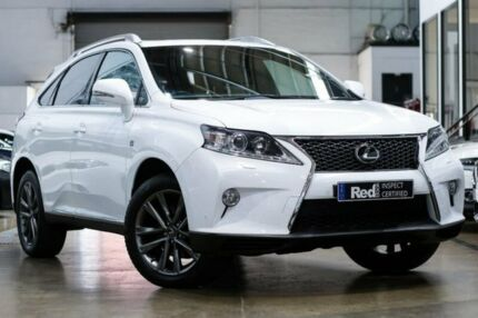 2014 Lexus RX350 GGL15R F Sport White 6 Speed Sports Automatic Wagon Port Melbourne Port Phillip Preview