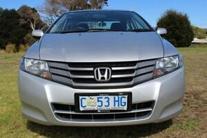 2011 Honda City GM MY11 VTi Silver 5 Speed Manual Sedan Burnie Burnie Area Preview