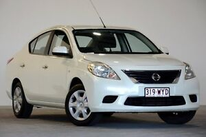 2012 Nissan Almera N17 ST White 5 Speed Manual Sedan Coopers Plains Brisbane South West Preview