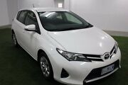 2014 Toyota Corolla ZRE182R Ascent S-CVT White 7 Speed Constant Variable Hatchback Moonah Glenorchy Area Preview