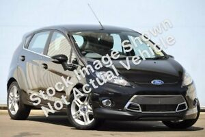 2012 Ford Fiesta WT Zetec PwrShift Black 6 Speed Sports Automatic Dual Clutch Hatchback Wantirna South Knox Area Preview